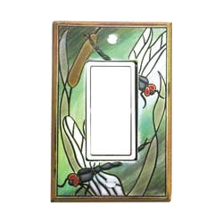Dragonfly Single Decora Switch Plate