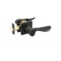 Oil Rubbed Bronze Luzern Key-In Lever