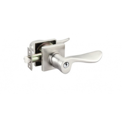 Polished Chrome Luzern Key-In Lever