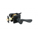 Flat Black Luzern Key-In Lever