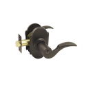 Oil Rubbed Bronze Cortina Key-In Lever