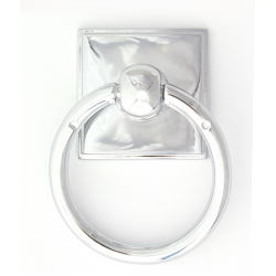 Polished Chrome Ring Pull