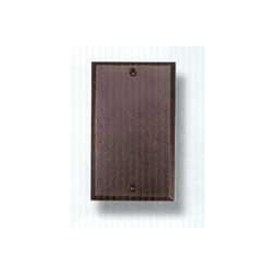 Bronze Blank Switchplate