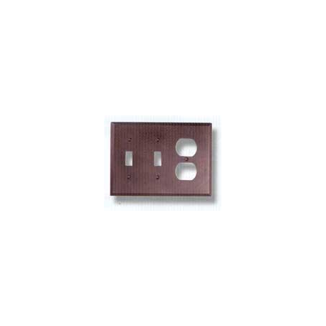 Bronze Double Toggle Outlet Combo