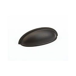 """Oil Rubbed Bronze Traditional Cup Pull 3"""""""