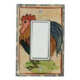 Rooster Single Decora Switch Plate