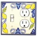 Lemons Combo Switch Plate 1 Toggle/Outlet