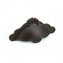 """Oil Rubbed Bronze Petal Cup Pull 3"""""""