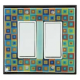 Tiny Tiles Double Decora Switch Plate