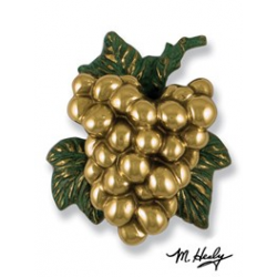Michael Healy Grapes Knocker Brass