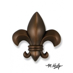 Michael Healy Fleur De lys Knocker Oiled Bronze