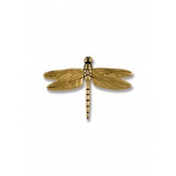 Michael Healy Small Dragon Fly Knocker Brass