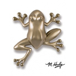 Michael Healy Frog Knocker Nickel Silver
