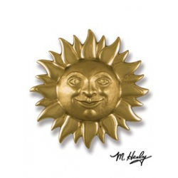 Michael Healy Sun Knocker Brass