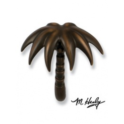 Michael Healy Palm Tree Knocker Oiled Bronze