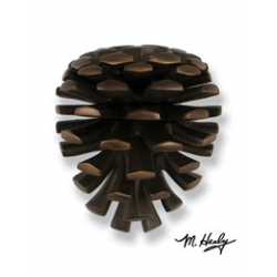 Michael Healy Pinecone Knocker Oiled Bronze