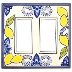 Lemons Double Decora Switch Plate