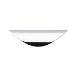 """Top Knobs Cup Pull 1.25"""" Polished Chrome"""