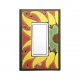 Sunflower Single Decora Switch Plate