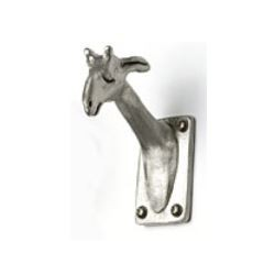 Small Pewter Giraffe Hook
