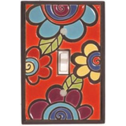 Fun Floral Switchplates
