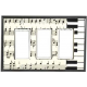 Music Note Ceramic Switchplates