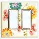 Watercolor Floral Switchplates