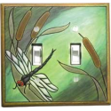 Dragonfly Double Toggle Switch Pate