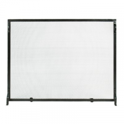 Small Plain Fire Screen