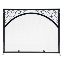 Large Sterling Flat Fire Screen