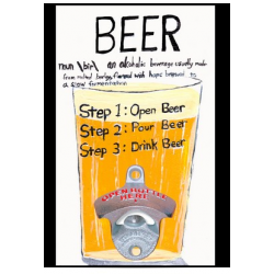 Beer Steps Bottle Opener