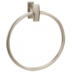 Satin Nickel Towel Ring 7""