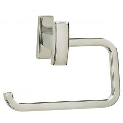 Polished Chrome Single Post Tissue Holder
