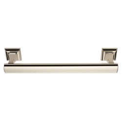 Polished Nickel Manhattan Towel Bar 24""