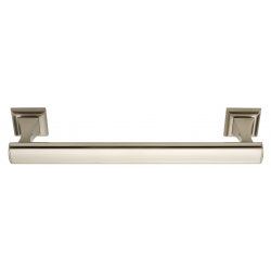 Satin Nickel Manhattan Towel Bar 24""