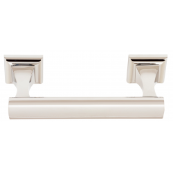 Polished Nickel Swing Tissue Holder