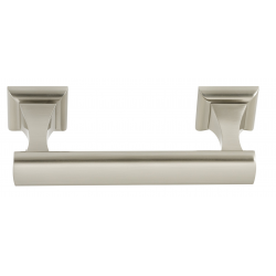 Satin Nickel Swing Tissue Holder