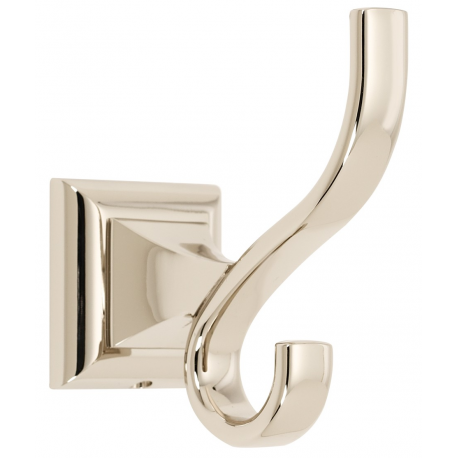 Polished Nickel Robe Hook