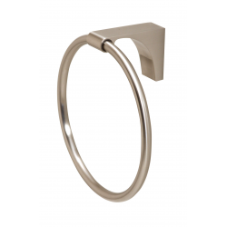 Satin Nickel Towel Ring