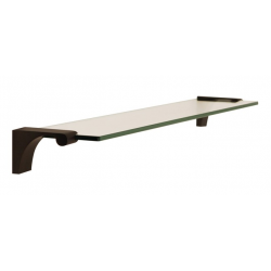 Bronze Glass Shelf 18""