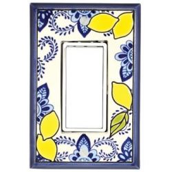 Lemons Single Decora Switch Plate