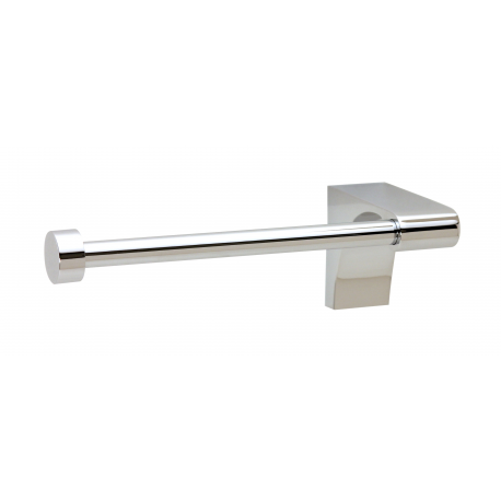 Polished Chrome Single Post Tissue Holder Right Handed