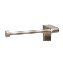 Satin Nickel Single Post Tissue Holder Right Handed