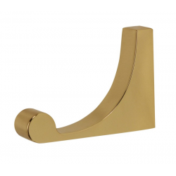 Polished Brass Robe Hook