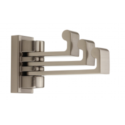 Satin Nickel Triple Hook