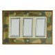 Mosaic Triple Decora Switch Plate