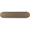 "Beaded Push Plate 15"" German Bronze"