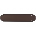 """Beaded Push Plate 15"""" Oil Rubbed Bronze"""