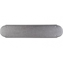 """Push Plate 15"""" Pewter"""