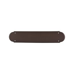 "Push Plate 15"" Oil Rubbed Bronze"